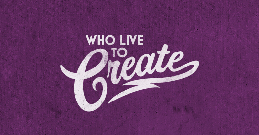 create-purp typography by Brandon Rike