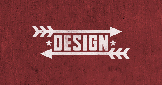 design-red typography by Brandon Rike
