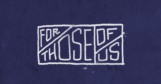 forhose-indi typography by Brandon Rike