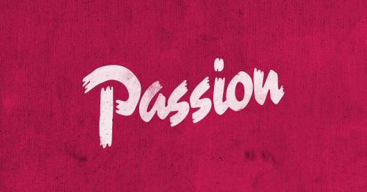 passion-fusch typography by Brandon Rike