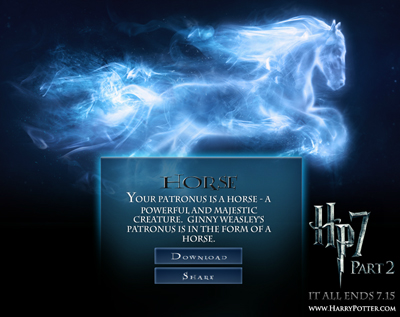 Harry Potter Patronus Facebook App