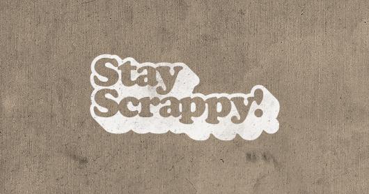 scrappy-tan typography by Brandon Rike