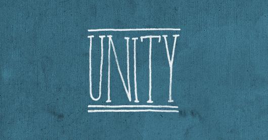 unity-blu typography by Brandon Rike