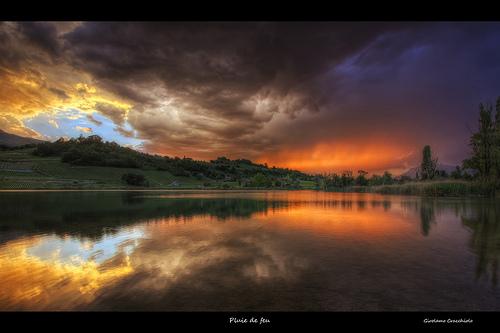 Pluie de Feu by Girolamo's HDR Photos
