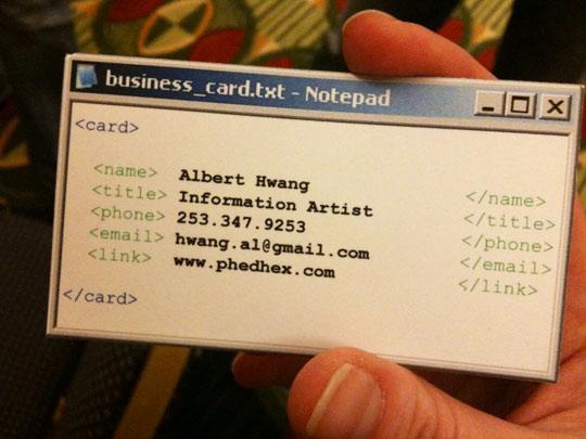 Funny business card notepad windows logomyway blog funny business card notepad windows colourmoves