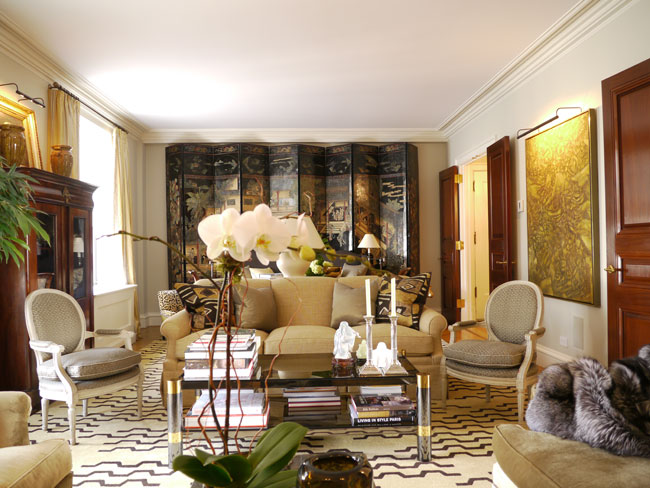 Look inside 9 new york city apartments logomyway blog for Decoration interieur classique