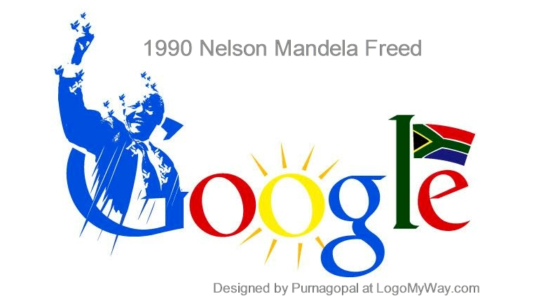 1990 Nelson Mandela Freed Logo