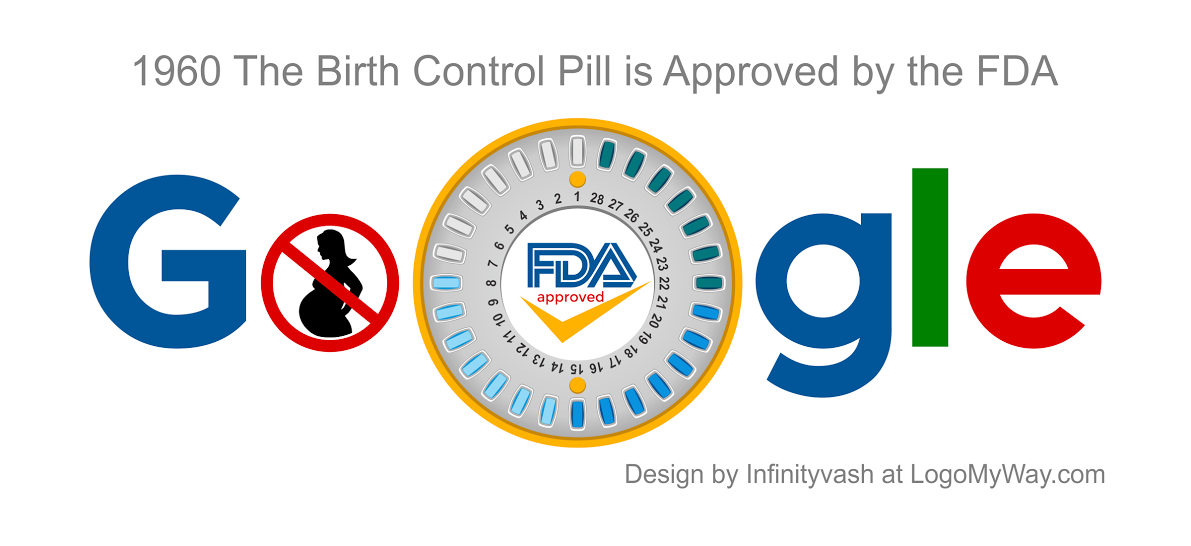 1960 Birth Control Pill Is Approved Logo