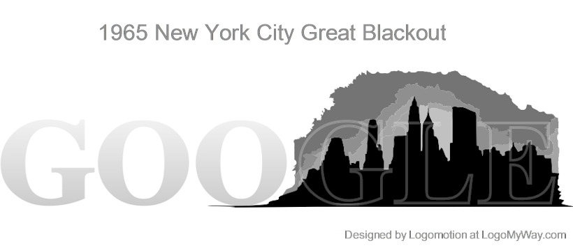 1965 New York City Blackout Logo