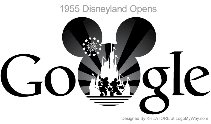 History of the Google Logo Back In The Olden Days