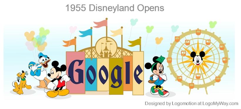 1955 Disneyland Opens Logo