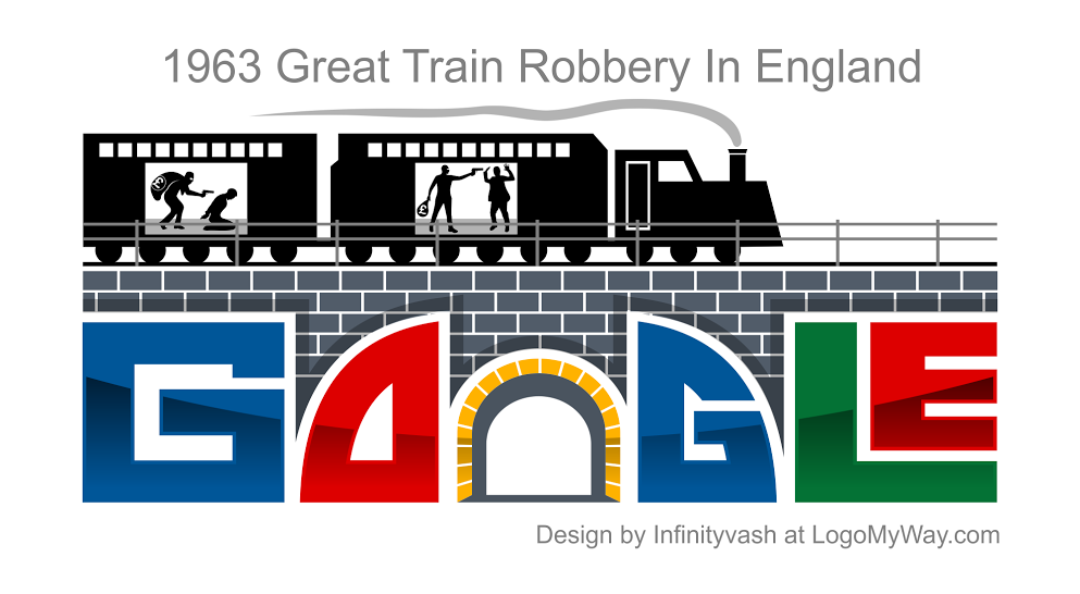 1963 Great Train Robbery In England Logo