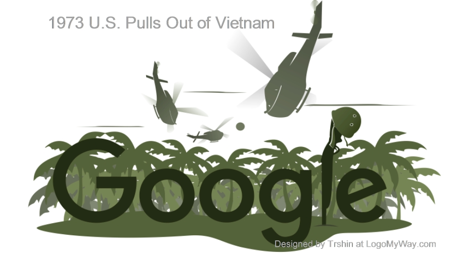 1973 U.S pulls out of Vietnam Logo