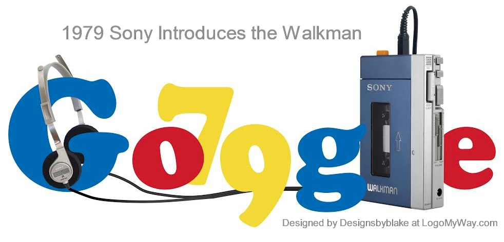 1979 Sony Introduces the Walman Logo
