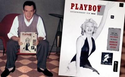 Hugh Hefner and The History Of The Playboy Logo