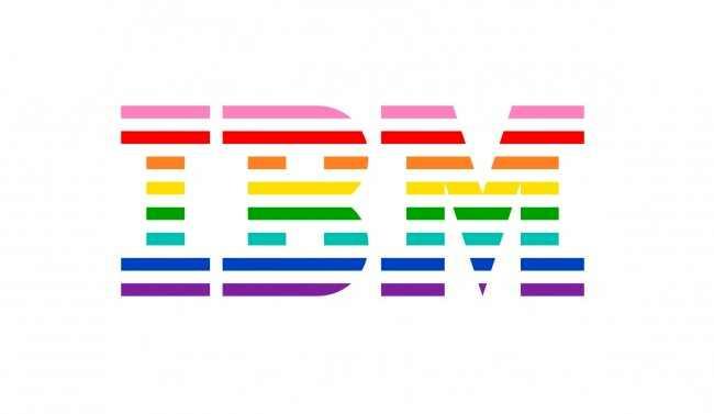 ibm releases a new gay pride logo design rh blog logomyway com Rainbow Pride Logo LGBT Logo