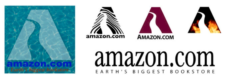The History of Amazon and their Logo Design