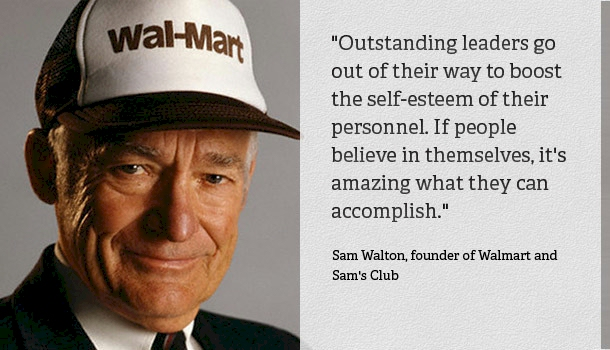 Sam Walton The Legendary Founder Of Walmart Opened His First Retail Store In 1950 Bentonville Arkansas Right Away Adopted A Simple Yet