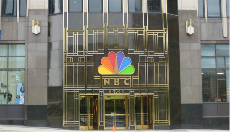 The NBC Logo Displays A Variety Of Colors And When It Was Animated As Often Displayed Even Larger