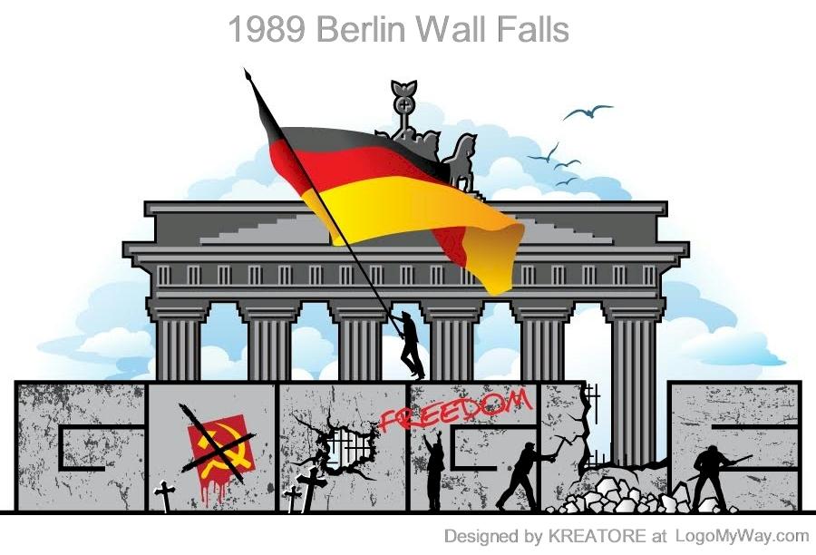 Google Doodle 1989 Berlin Wall