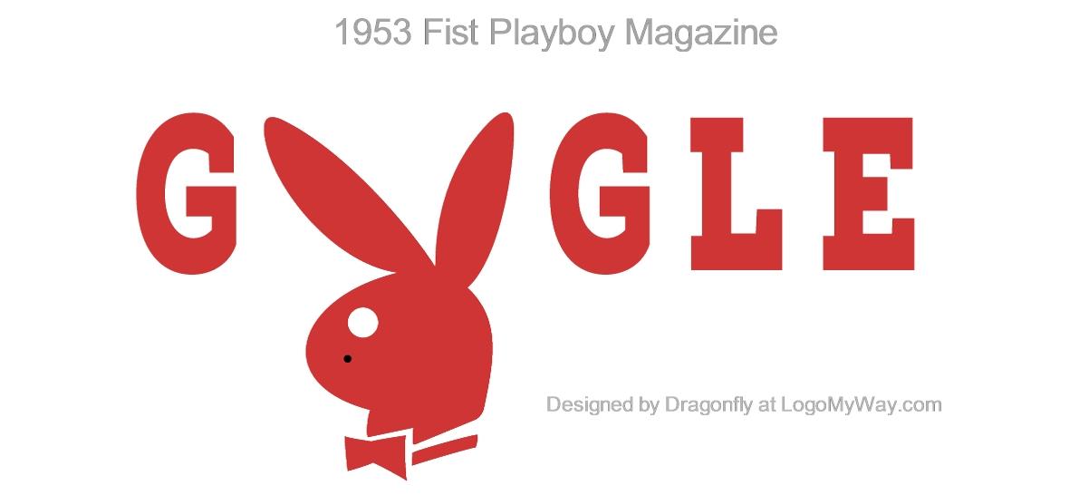 Google Doodle 1953 First Playboy Magazine