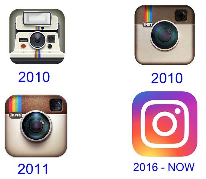instagram logo evolution 1